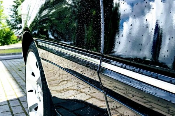 Mercedes C160 fényezése, javítása