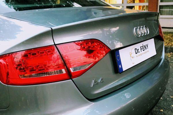 Audi A4 javítása