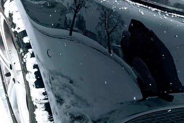 Mercedes E350d 4matic első lökhárító és sárvédő javítása