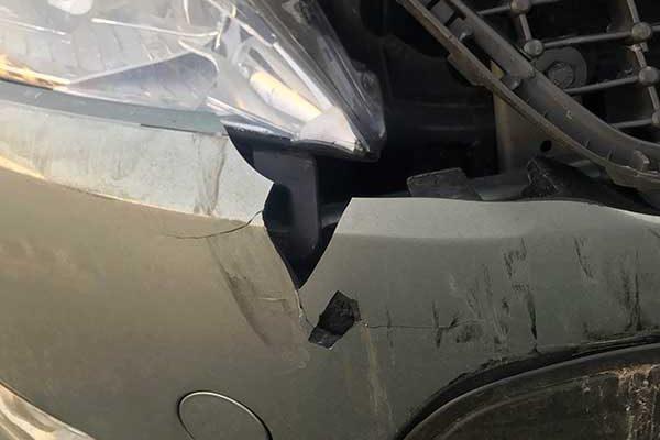 Ford Mondeo balesetes javítása