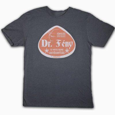 #8 szürke, rövid ujjú póló, ár: 4.480 Ft