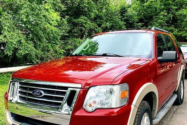 Törökországból érkezett Ford Explorer javítása