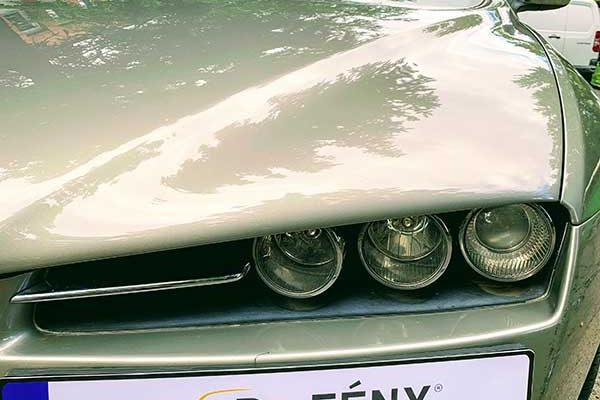 Alfa Romeo gépháztető és lökhárító javítása, fényezése