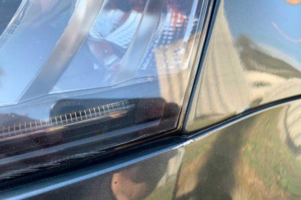 Skoda Octavia első, hátsó lökhárító javítása, fényezése