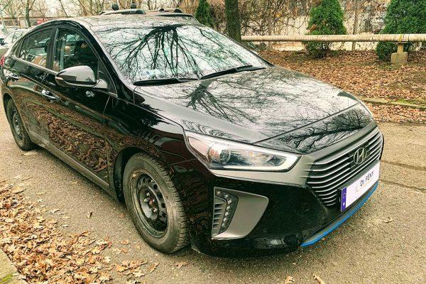 Hyundai Ionic karosszériás javítása, fényezése