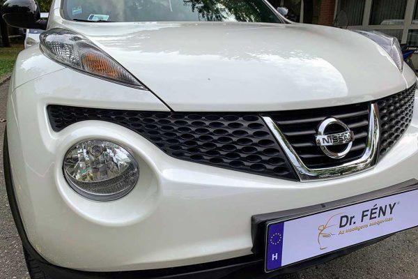 Nissan Juke karambolos javítása