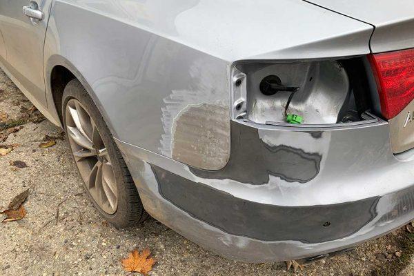Audi A5 lakatos javítása, fényezése